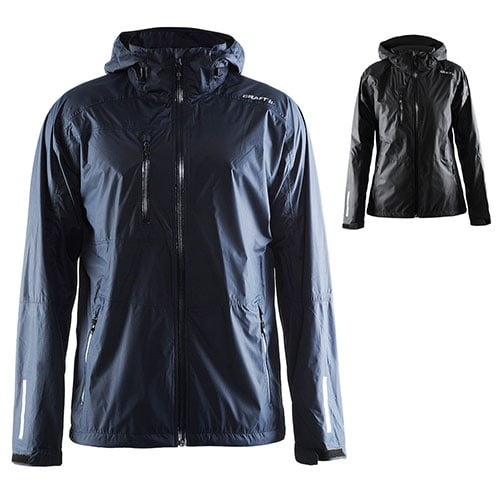 craft aqua rain jacket